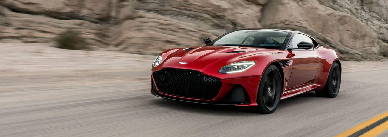 Aston Martin Superleggera 2018
