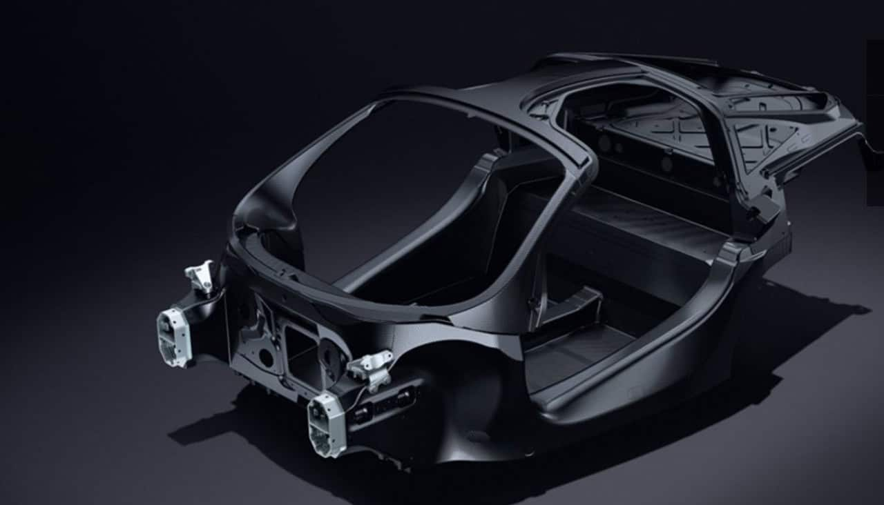 McLaren 720S Carbon Fibre Monocage-II