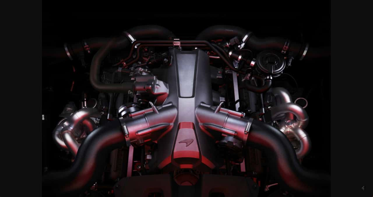 McLaren 720S Engine