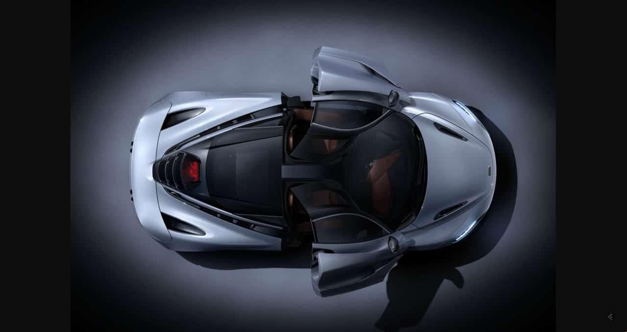 McLaren 720S Iconic Doors