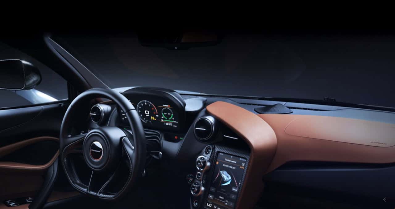 McLaren S720 Luxury Interior