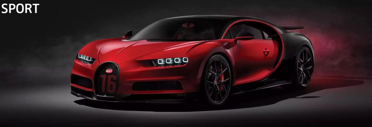 Chiron Sport Bugatti