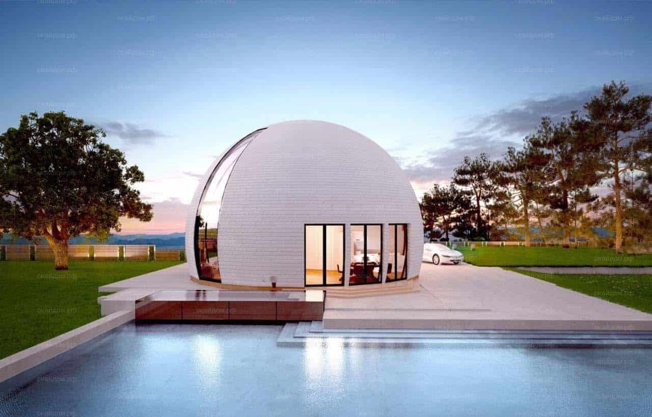 Skydome Design - Modern Houses of the future 24