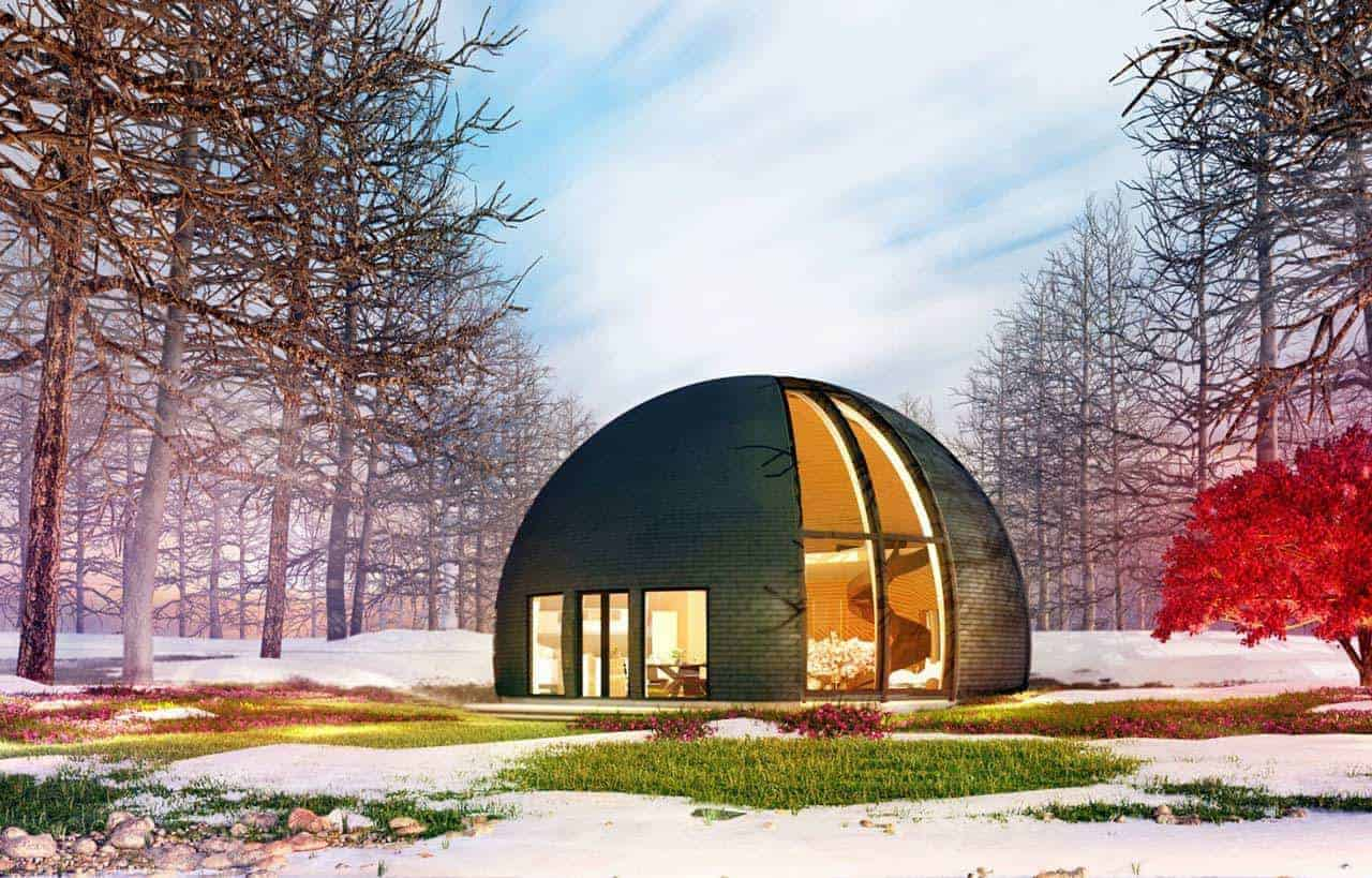 Skydome Design - Modern Houses of the future 14