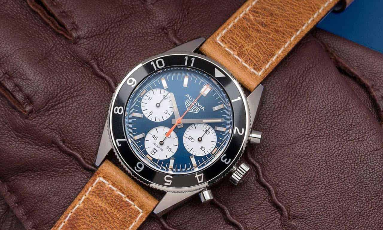 watches of switzerland TAG heuer autavia limited edition leahter