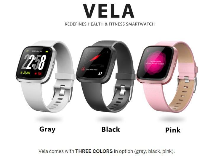 Vela Watch Colors