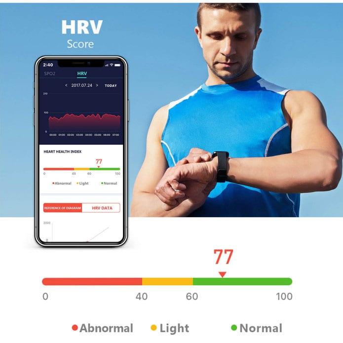 Vela Smarth Watch HRV Score