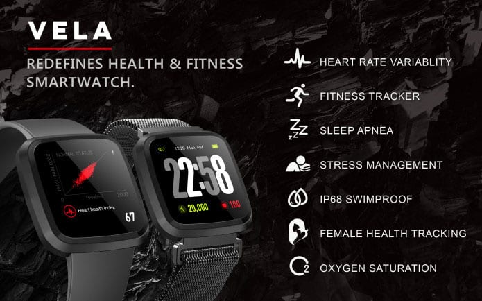 Vela Smarth Watch - health and Technology Products