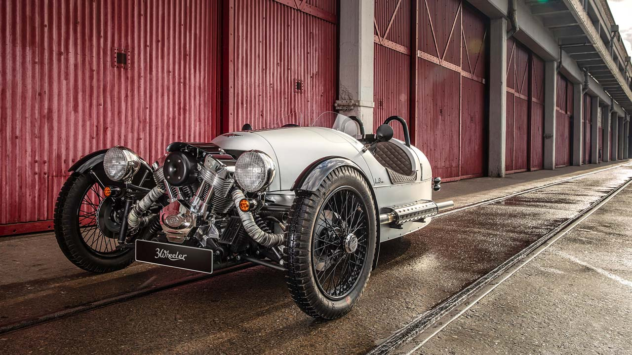 Morgan 3 Wheeler 110 Anniversary Model 2019 head On