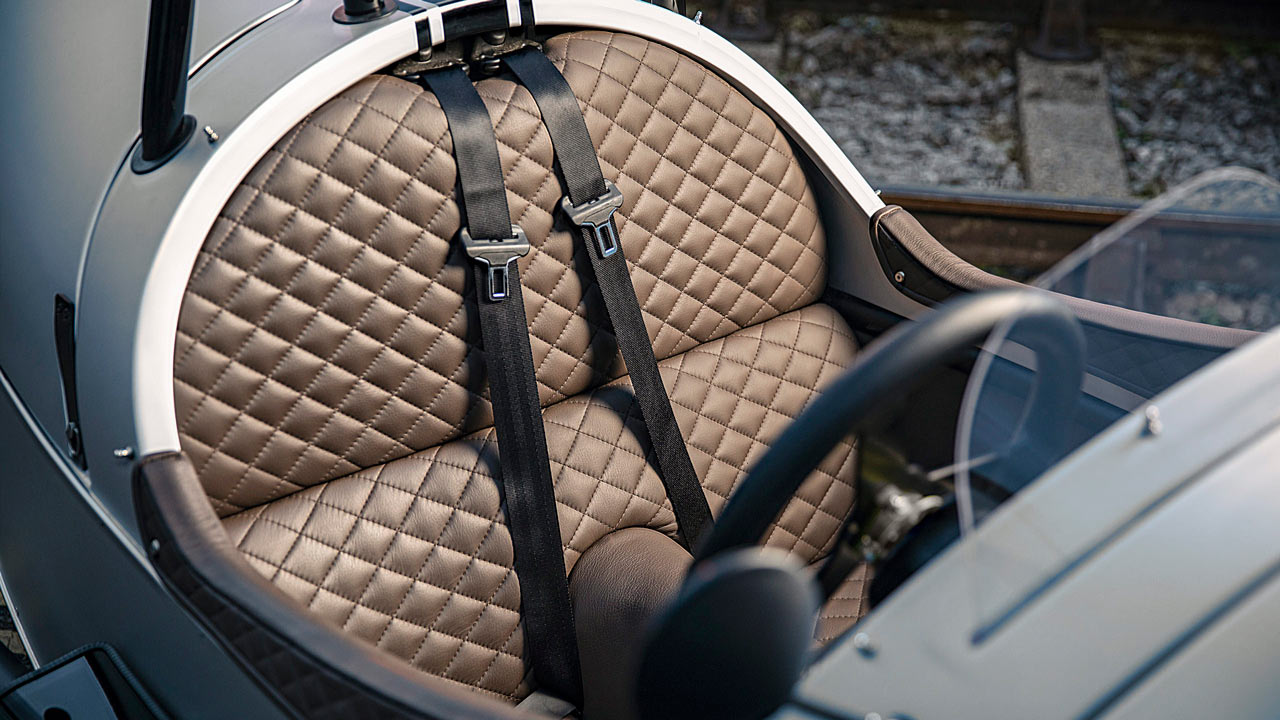 Morgan 3 Wheeler 110 Anniversary Model 2019 Interior