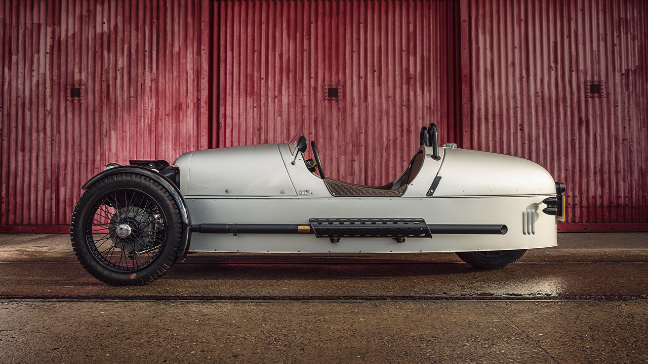 Morgan 3 Wheeler 110 Anniversary Model 2019 Side View