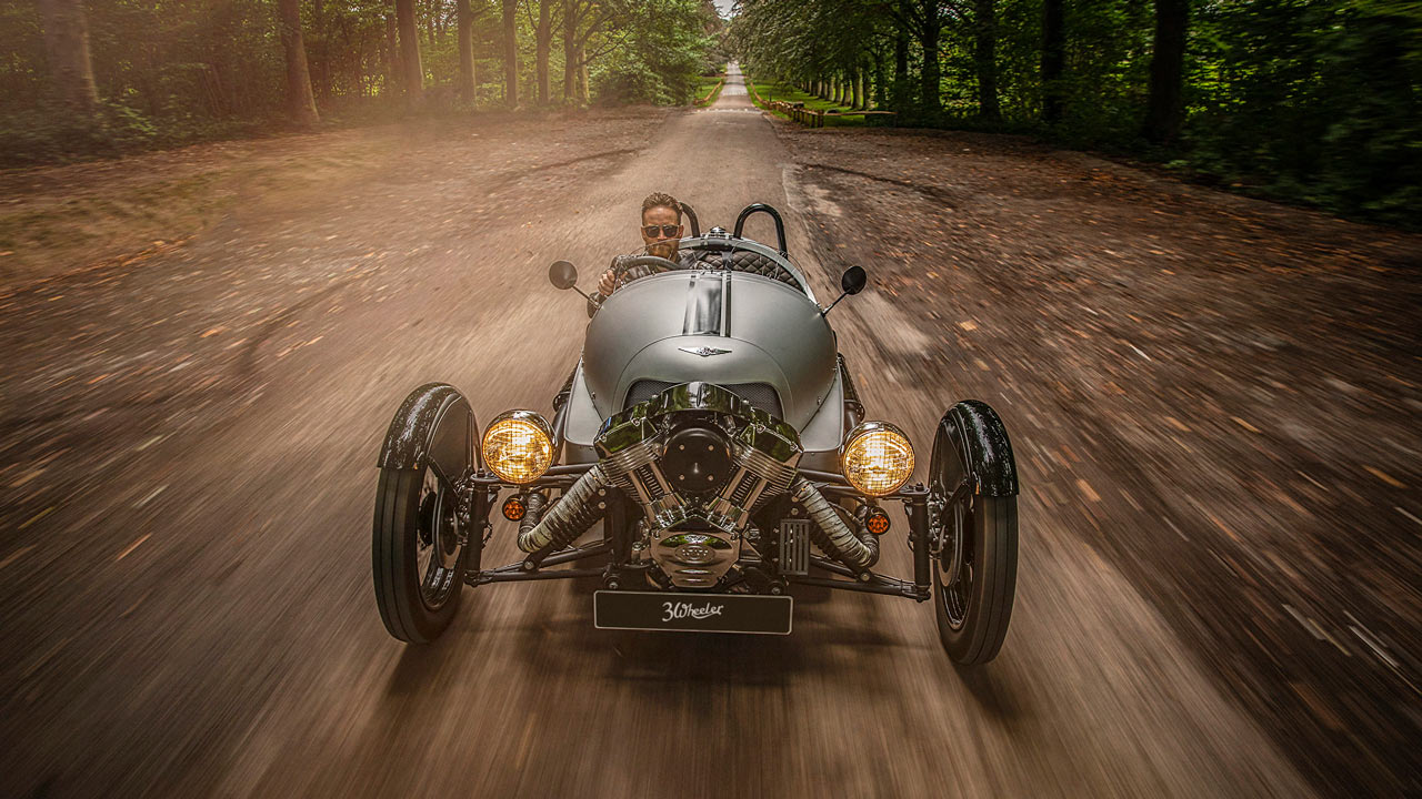 Morgan 3 Wheeler 110 Anniversary Model 2019 Front