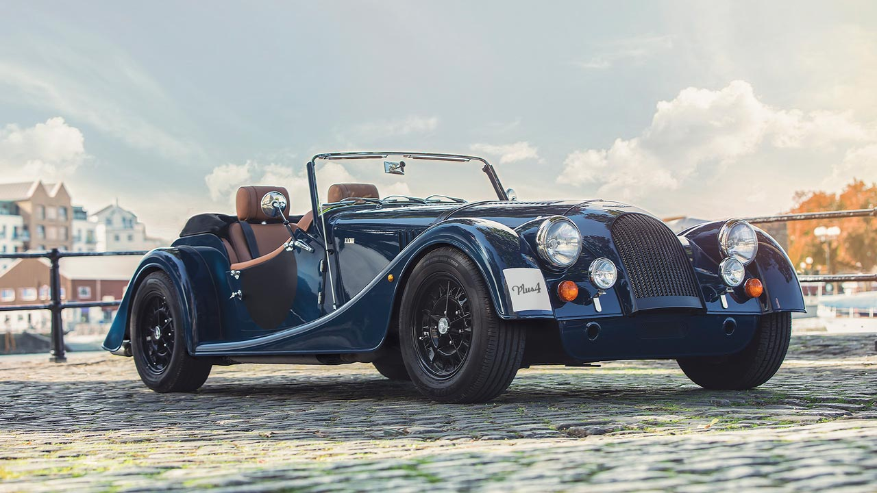 2019 Morgan Plus 4 Anniversary 110 Model Frontal