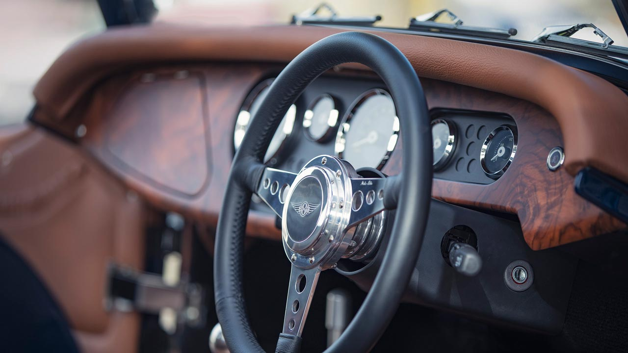 2019 Morgan Plus 4 Anniversary 110 Model Steering Wheel