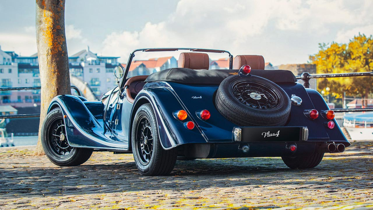 2019 Morgan Plus 4 Anniversary 110 Model Rear End