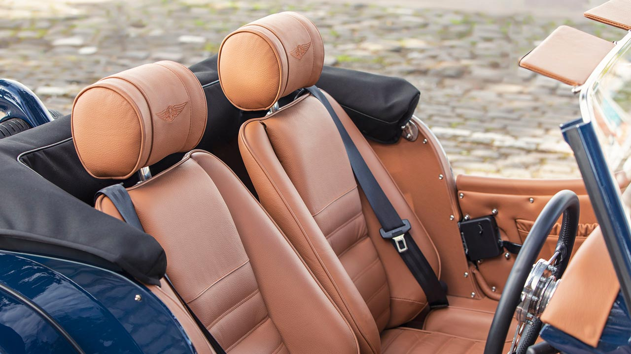2019 Morgan Plus 4 Anniversary 110 Model Leather Interior