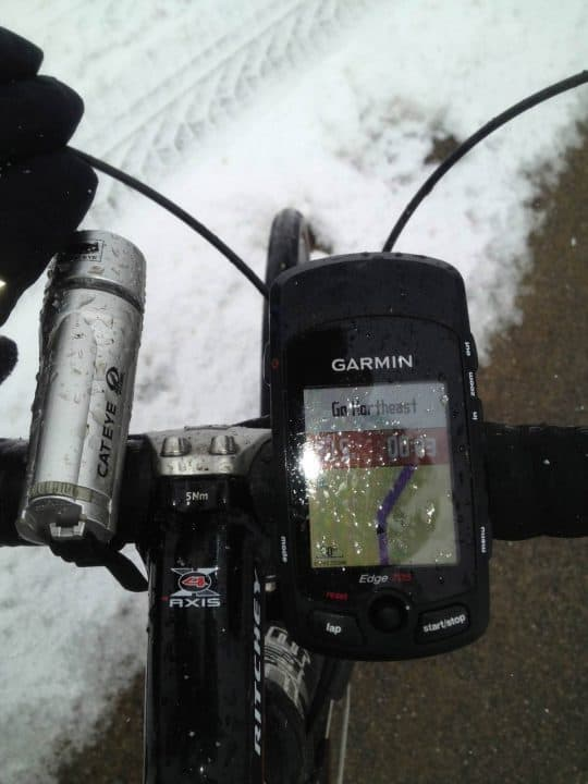 Garmin Edge 705 HRM GPS Review
