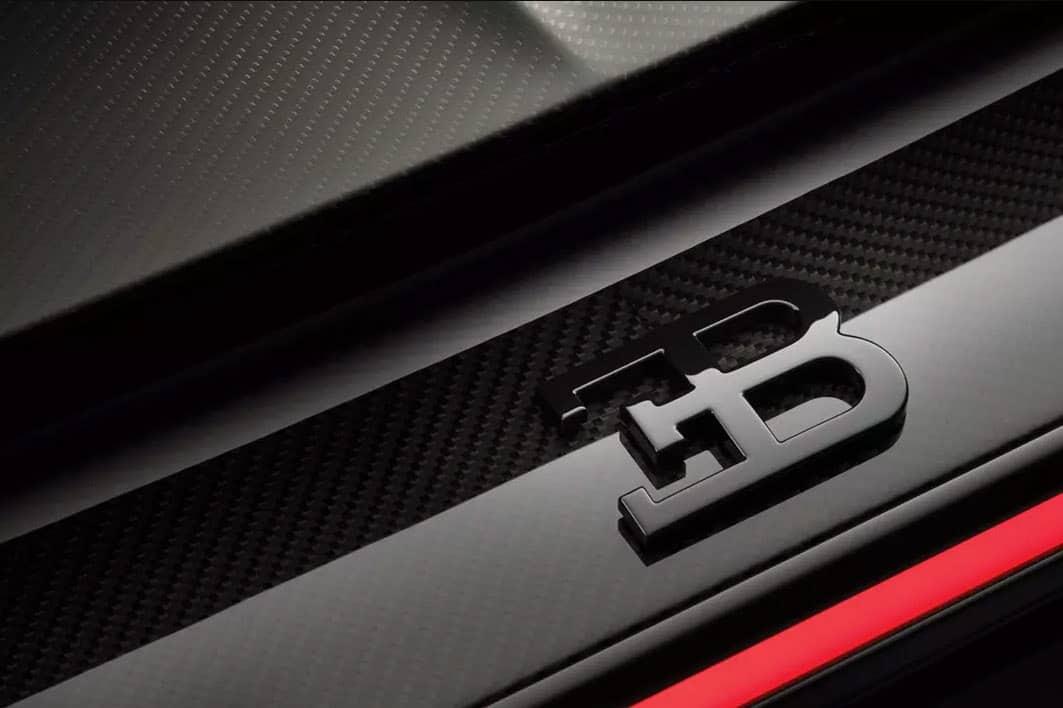 Chiron Sport Bugatti Badge
