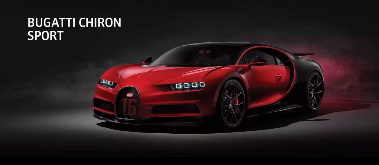 Chiron Sport Bugatti Full View