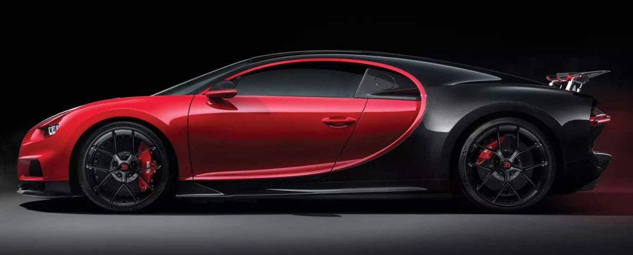 Chiron Sport Bugatti Side View