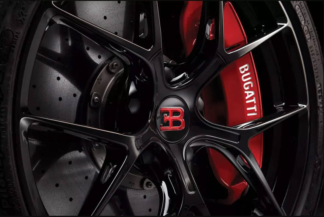 CHIRON SPORT Lightweight Wheels