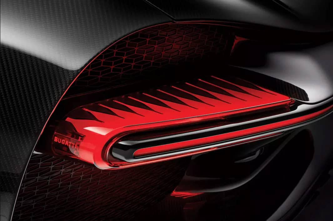 CHIRON SPORT Rear Light Cluster