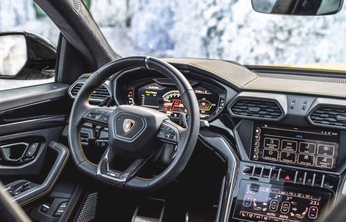 Lamborghini Urus By Manhart